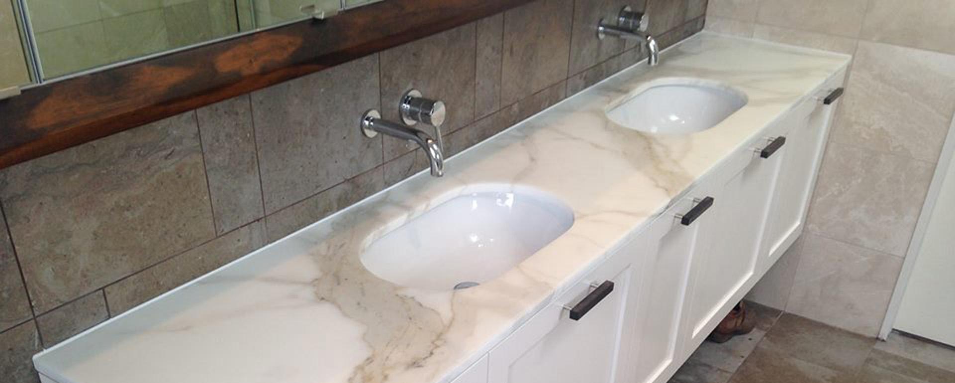 Marble Vanity Restoration