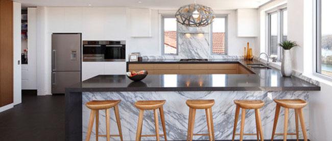 marble benchtop polishing