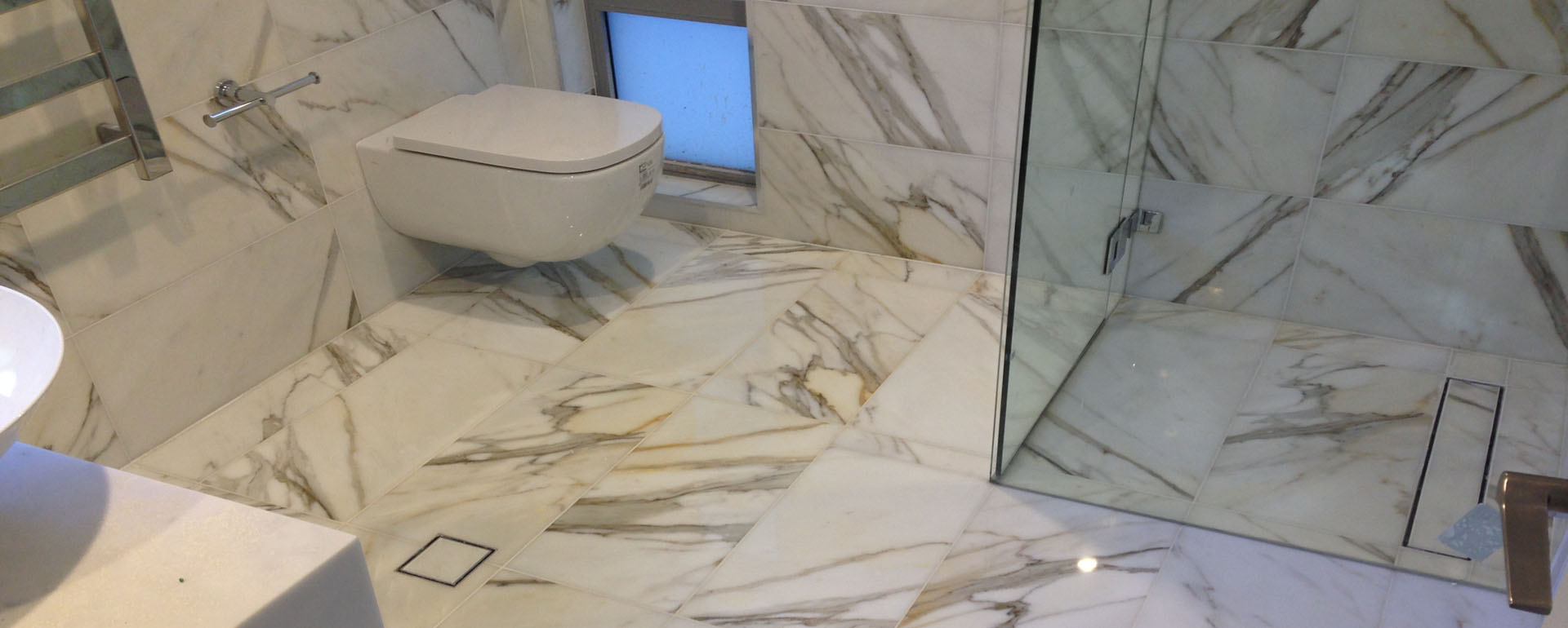 Marble Bathroom Restoration
